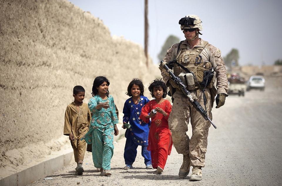 Bimbi in Afghanistan