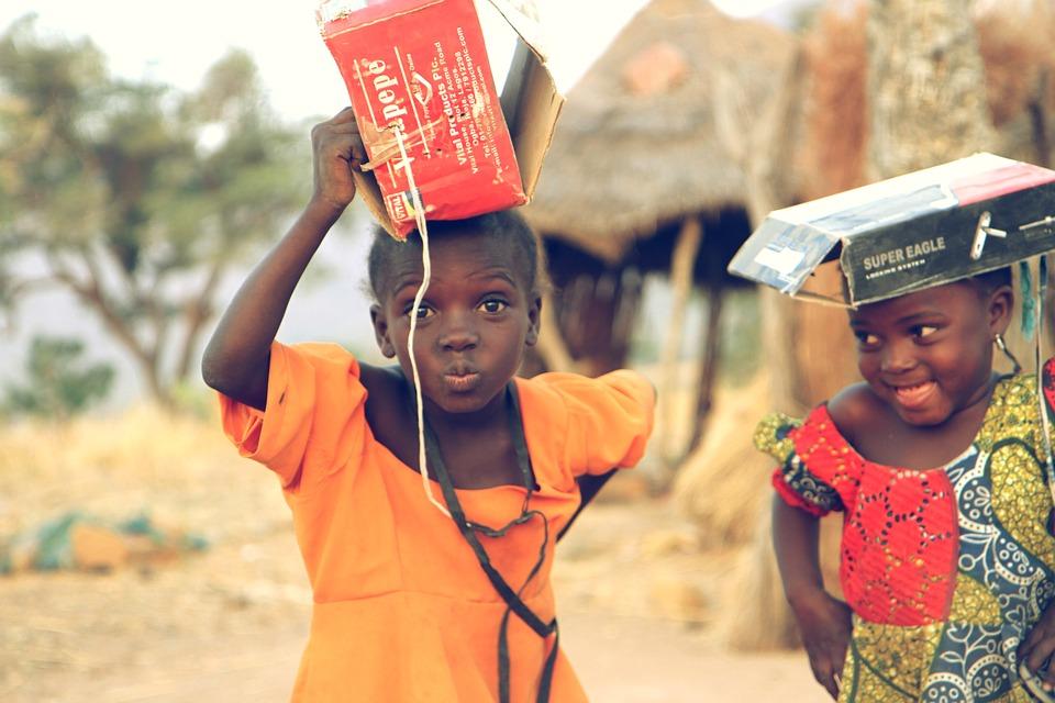 Bambini in Ruanda
